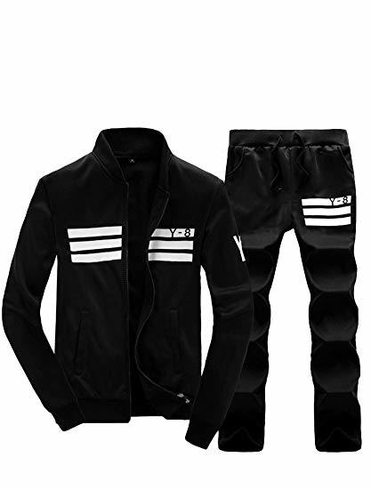 Men′s Casual Tracksuit Long Sleeve Running Jogging Athletic Sports Set pictures & photos
