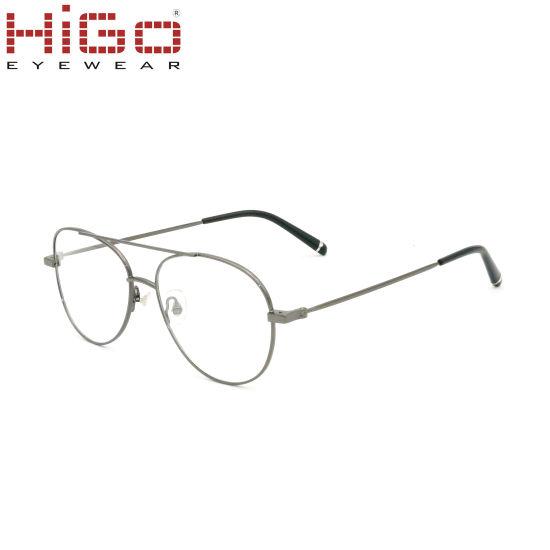 Classic Design Popular Metal Eyeglasses Optical Frames Eyewear