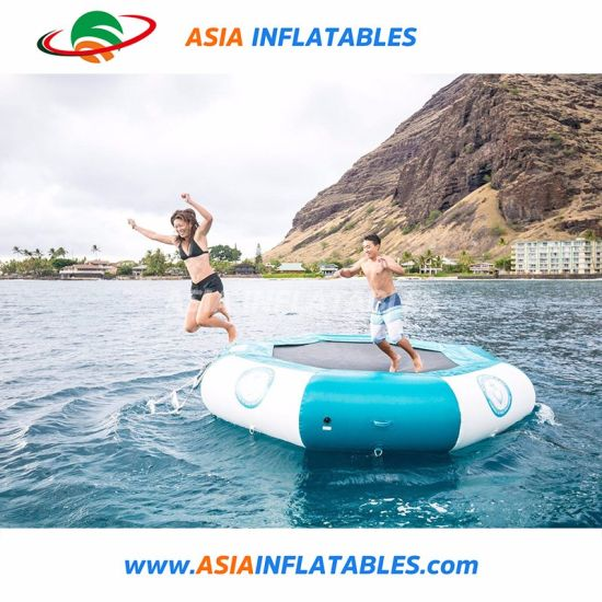 Customized Size Durable Cheap Inflatable Water Trampoline for Sale pictures & photos