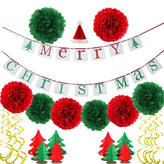 Christmas Banner.Hot Item Umiss Paper Merry Christmas Banners For Holiday Party Decoration Christmas Decoration