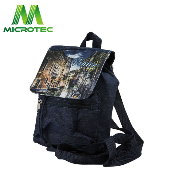 561cd498ca11 China Heat Transfer Sublimation Blank Polyester Canvas City Bag ...