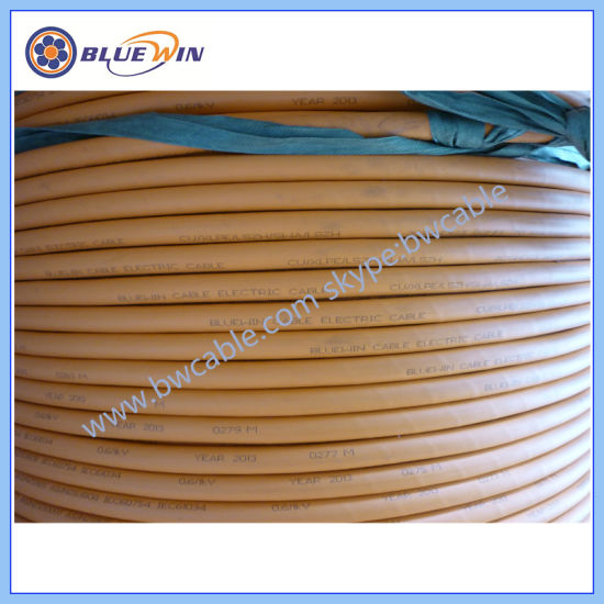China 5 Core Steel Wire Armoured Cable 50 mm Armoured Cable 6 AWG ...