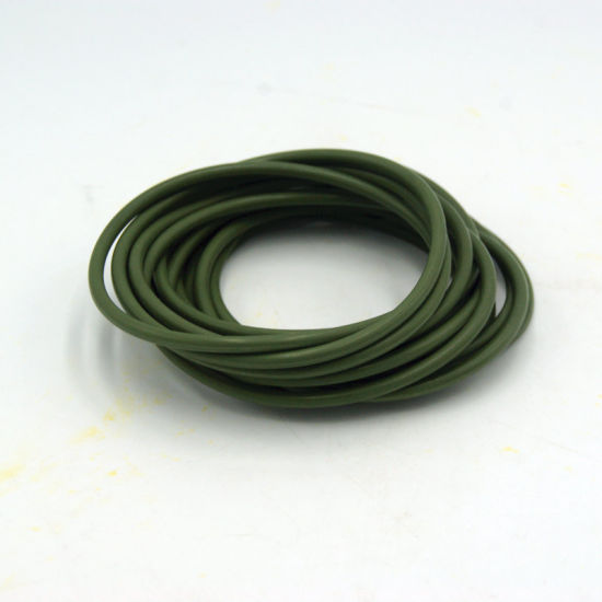 Colored Customized Silicone Rubber Seal O Ring for Instrument Electronic Equipment