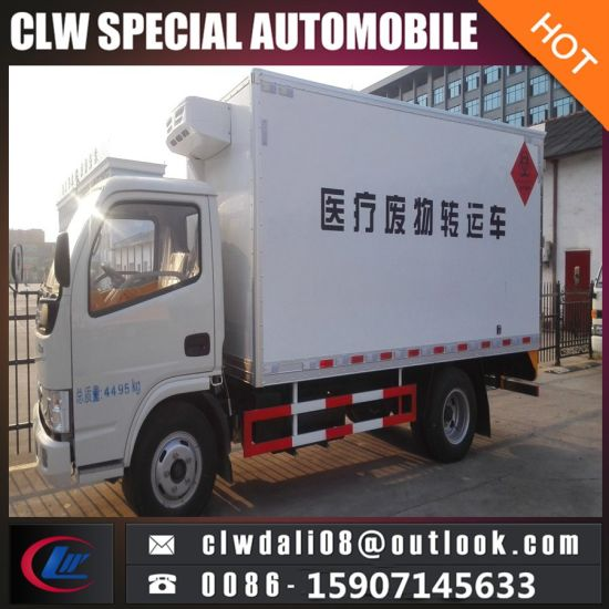 Medical Waste Transfer Truck, Small Medical Waste Van Trucks for Sale