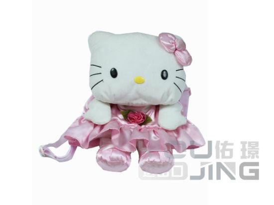 China Plush Animal Hello Kitty Stuffed Doll Soft Toy China Stuffed