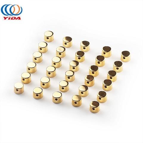 Supply Oxidation Golden Color Aluminium Cap for Cream Pump Bottle Cover