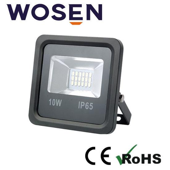 10W AC85-265V Outdoor Beam Angle 120 LED Floodhousing Food Light