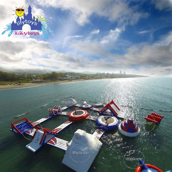 Beach Inflatable Floating Water Park Games