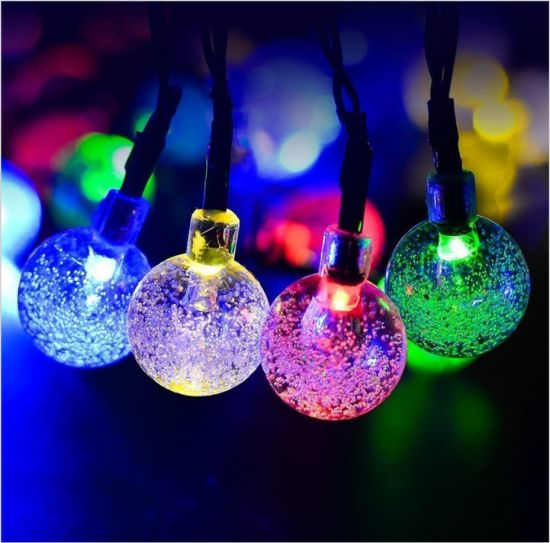LED Solar Light String Bubble Outdoor Christmas Decorative LED Lights pictures & photos