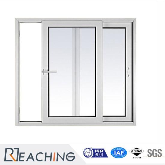 Thailand Hot Sale Cheap UPVC/PVC Glass Window Sliding Window for Project