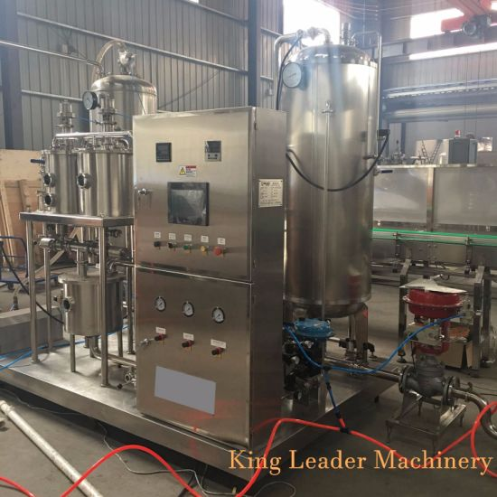 CO2 Carbonating Mixer for Carbonated Soft Drinks