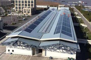 1MW Distributed Industrial and Commercial Roof Grid-Tied Solar Power System pictures & photos