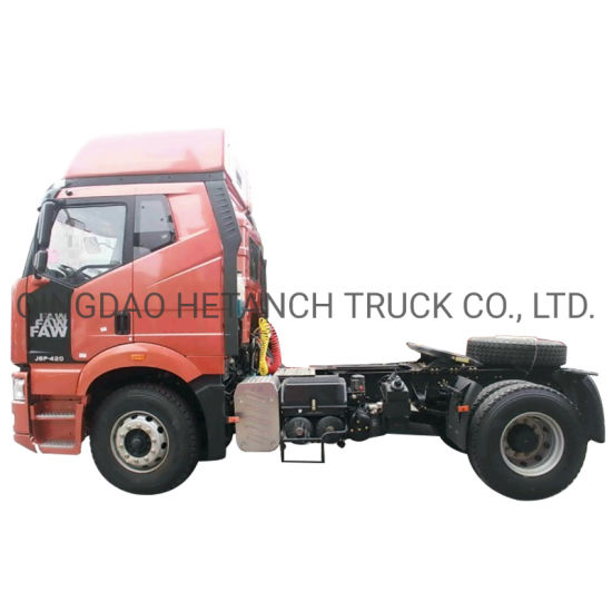 Low price FAW 380HP Trailer Head Truck Tractor Truck
