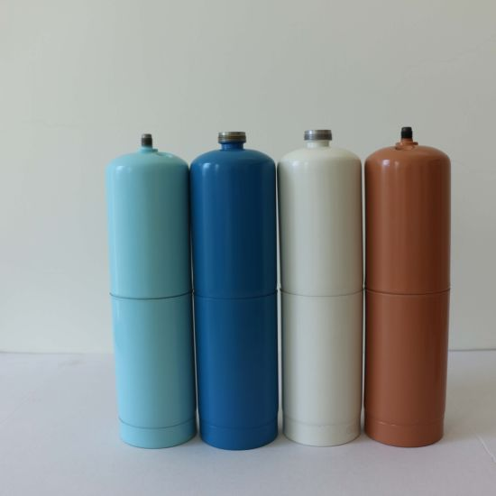 European Standard 1L Empty Disposable Mapp Gas Cylinder ISO11118