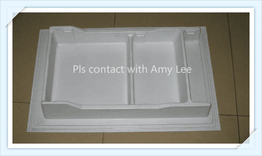 Extrusion White HIPS Plastic Sheet for Refrigeratory pictures & photos