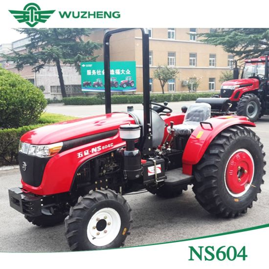 Waw Medium 4 Wheel 60HP Farm Tractor From China