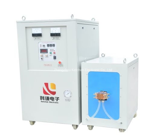 High Frequency Induction Metal Forging Melting Furnace for Round Rod Heating