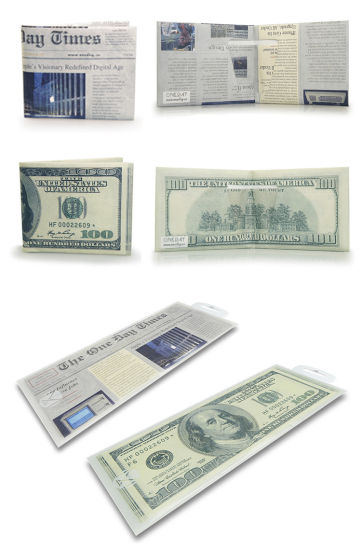 Fashion Top Quality Customized Tyvek Wallet pictures & photos