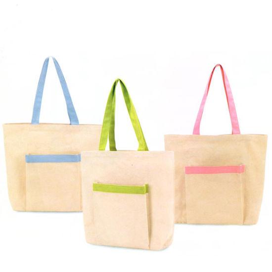 Foldable Customized Shopping Fashion Tote Cotton Bag Wholesale