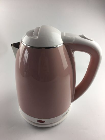 Beautiful Doby Double-Layer Anti-Scalding Quality Plastic Plastic Electric Kettle 1.8L