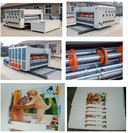 Semi-Automatic Flexo Printing and Slotting Machine (Chain feeder)