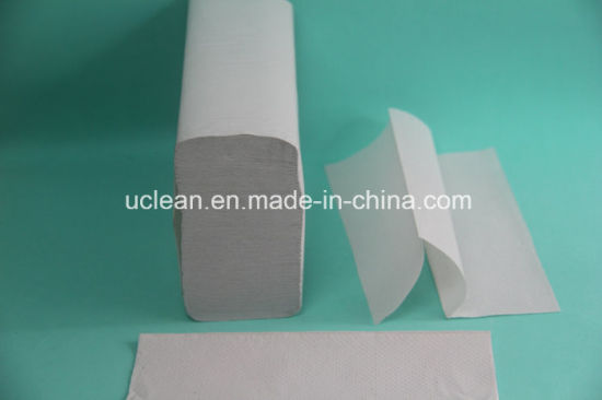 Recycle White N Fold Hand Paper Towel (MT-250RW) pictures & photos