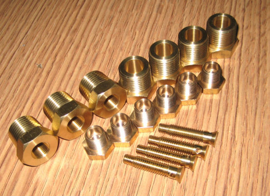 Brass CNC Turned Parts Roghness Ra0.8