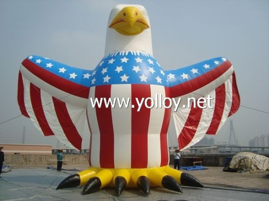 Inflatable Eagle Cartoon as Promotion Model and Outdoor Advertising pictures & photos