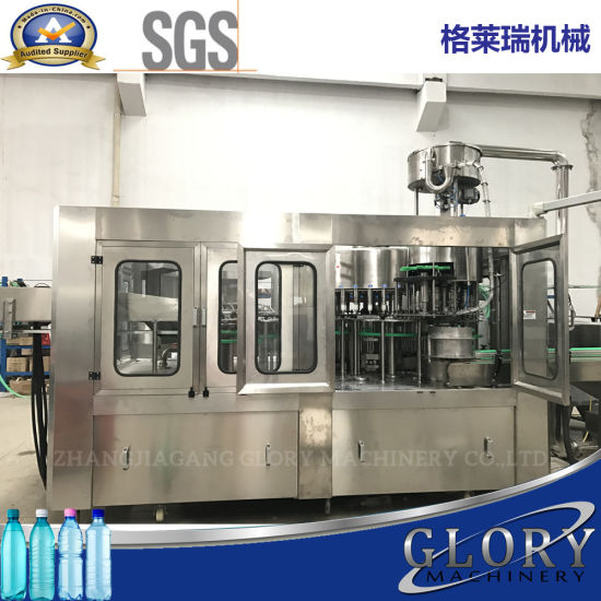 3000bph-24000bph Automatic Liquid Bottle Water Filling Machine with Packing Labeling pictures & photos
