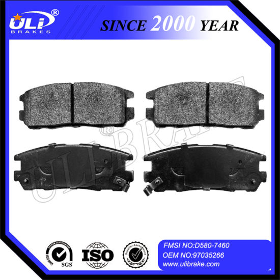 Isuzu D580 Car Brake Auto Ceramic Brake Pads