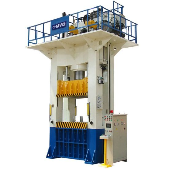1000 Tons H Frame Hydraulic Deep Drawing Press Machine for Stainless Steel Kitchen Sink 1000t