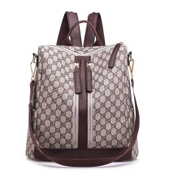 a124f7ae35 New Designer PU Leather Ladies Bags Handbags Women Backpack pictures    photos