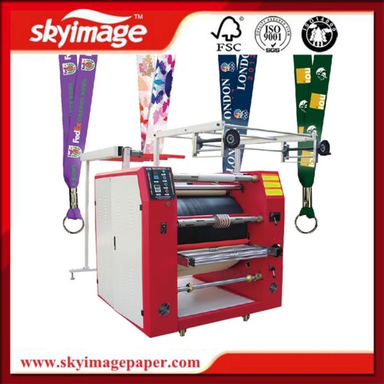 600*900mm Ribbon Heat Press Machine for Lanyard Sublimation Printing pictures & photos