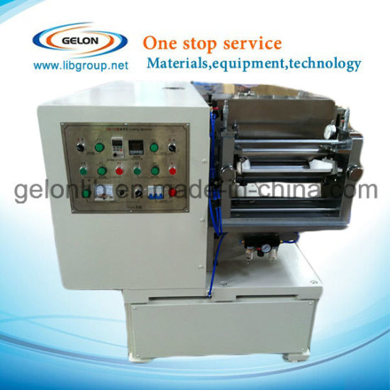 Small Lab Coating Machine Roll to Roll (Max. 250mm Width) with Drying Oven for Lithium Ion Battery (DYG-135)