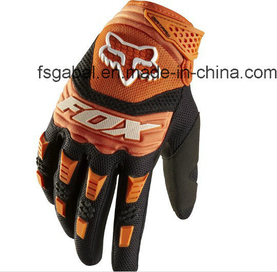 Fashion Fox Anti Slip Stretch Lycra Bicycle Sports Racing Gloves