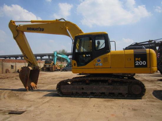 High Quality Excavators Used Komatsu PC200-7