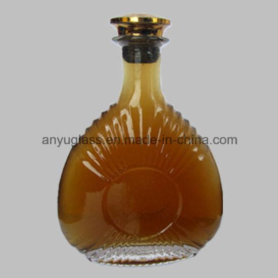 China Top Grade Brandy Glass Wine Liquor Bottle For 700ml 750ml