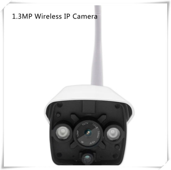 1.3MP IR Bullet WiFi IP Camera Wireless Outdoor Waterproof CCTV Camera pictures & photos