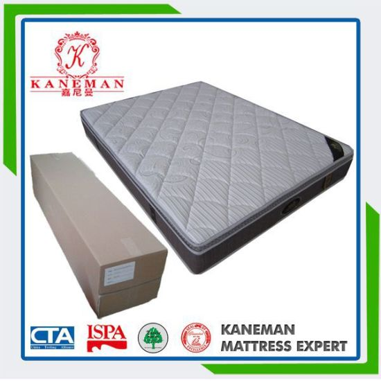 Good Quanity Royal Mattress Pocket Spring Pillow Top Mattress pictures & photos