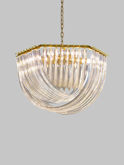 High Quality Italy Art Hotel Home Ceilings Round Decorate Wedding Pendant Lighting LED Modern Luxury Glass Crystal Chandeliers