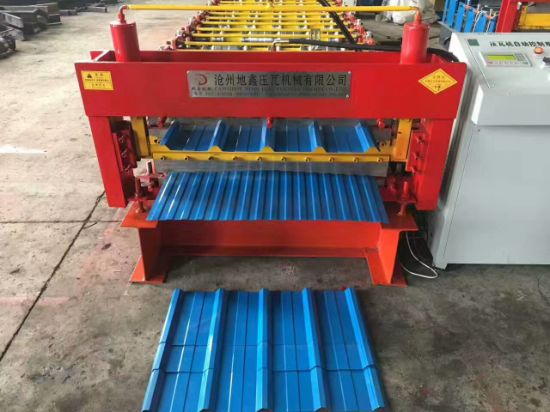 Roof Tile Sheet Roll Forming Machine Roof Roll Forming Machine pictures & photos