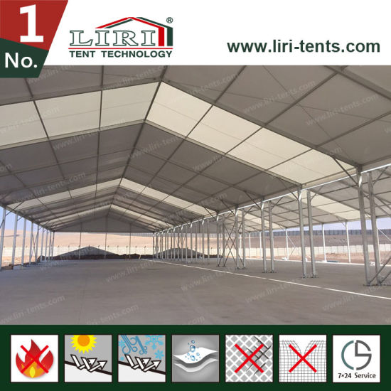 20X50m Warehouse Tent with Sandwich Panel for Warehouse and Storage pictures & photos