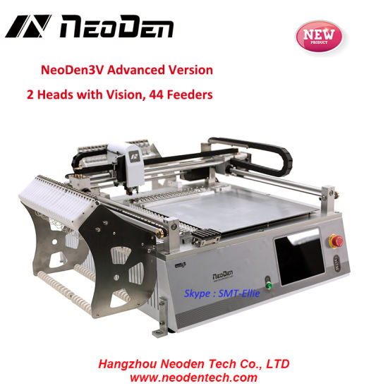 Neoden3V SMT LED Assembly Machine for Desktop Pick and Place Machine-  Advanced