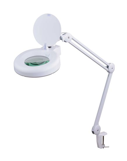 Table Clip Working Magnifier Lamp