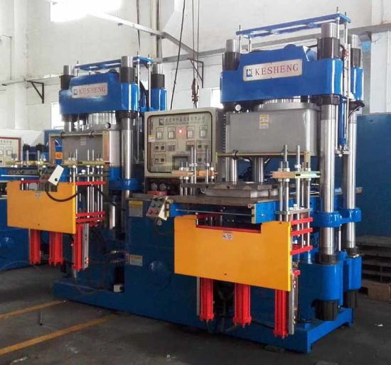 350ton Rubber Vacuum Molding Machine for Rubber Silicone Products (KS350V3)