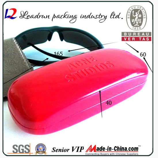 Metal Reading Glass Case Sun Glasses Box Eyeglasses Case Spectacle Optical Eyewear Case (HX012A) pictures & photos