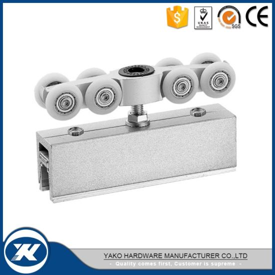China High Quality Stainless Steel Sliding Barn Door Roller - China