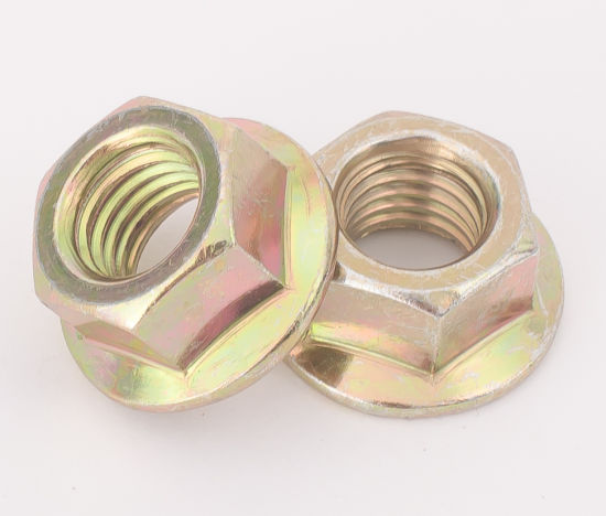 Flange Nuts (M5-M30 Yzp Cl. 6/8 DIN6923)