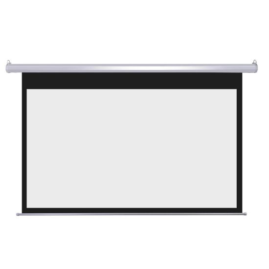Commercial Motorized Screen with Remote Controller for Education