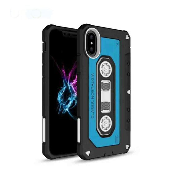 Hot New Tape Style TPU Mobile/Cell Phone Case for iPhone X Case pictures & photos